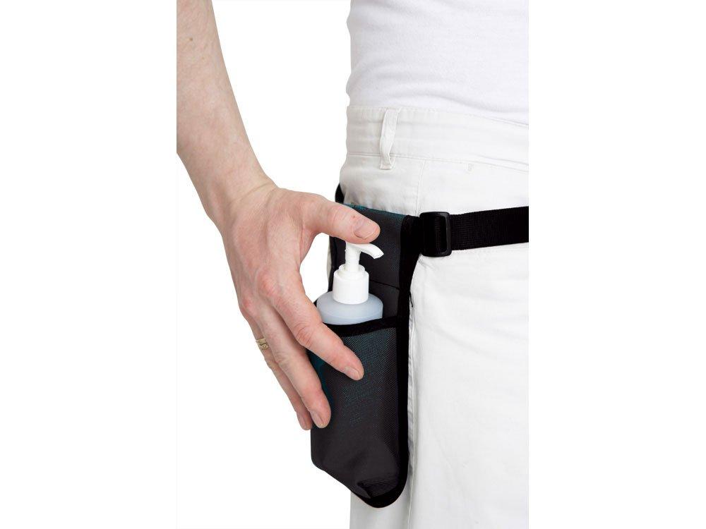 Bæltetaske m. pumpeflaske til massageolie